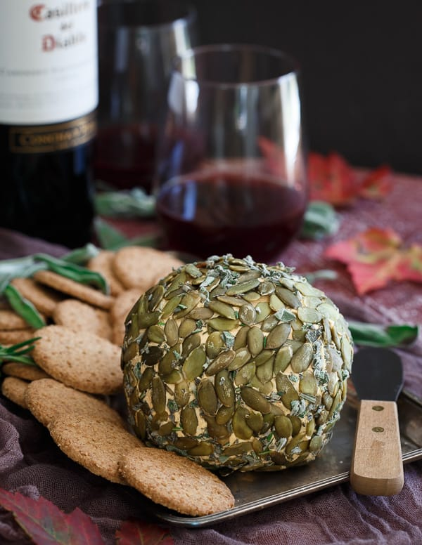Pumpkin Herb Cheese Ball