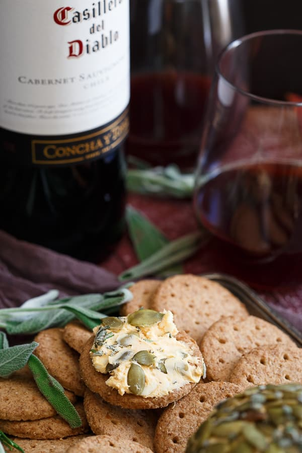 Pumpkin and Herb Cheese Ball