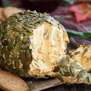 Pumpkin Herb Cheese Ball
