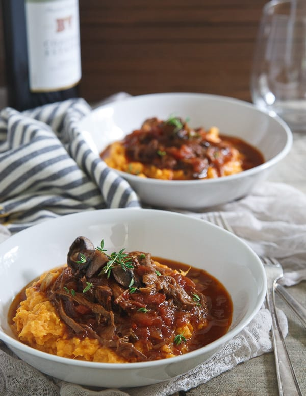 ... slow cooker short rib ragu is the perfect comfort food as the weather