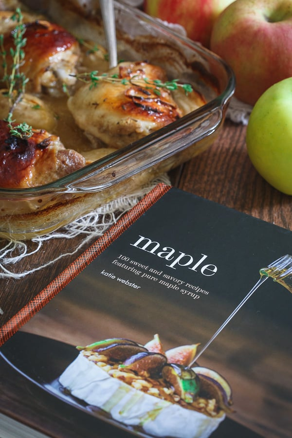 Maple Ginger Chicken Thighs from the cookbook Maple