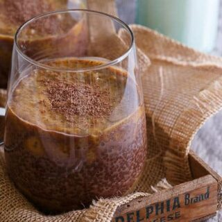 Pumpkin Chocolate Chia Pudding