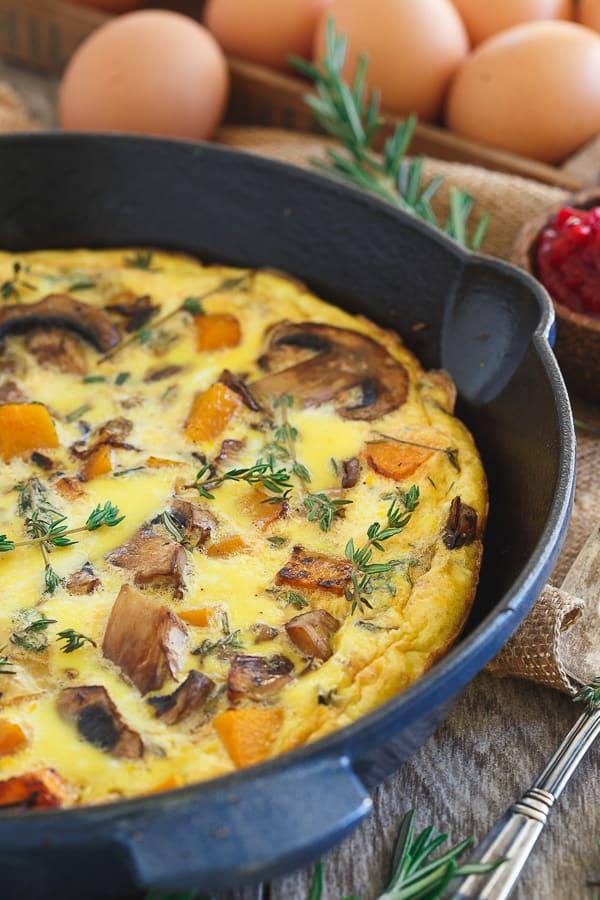 Thanksgiving Breakfast Frittata