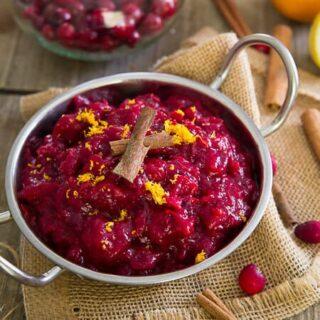 5 Ingredient Slow Cooker Cranberry Sauce