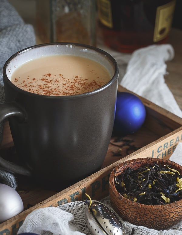 Chai coconut hot toddy