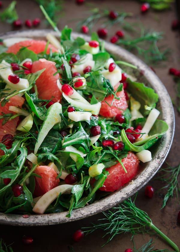 Quick Pickled Fennel Citrus Salad