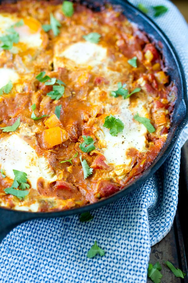Curried Shakshuka