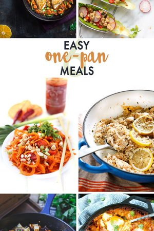 Easy One Pan Meals