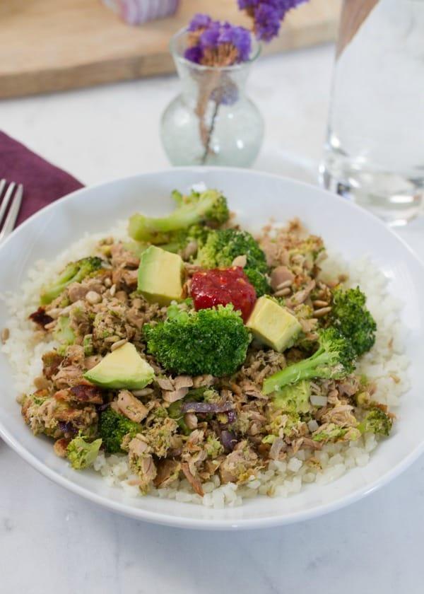 Broccoli-Tuna-Bowl