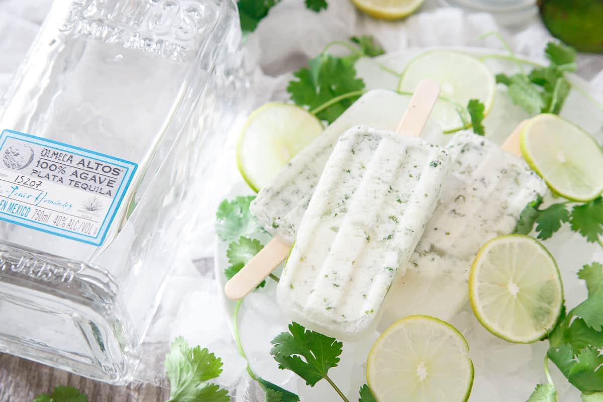 Margarita Ice Pops
