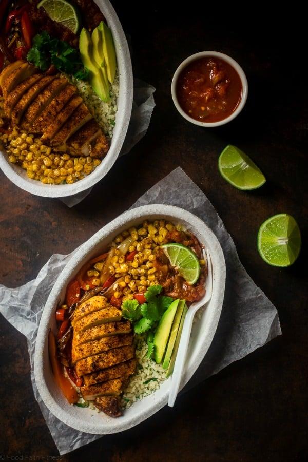 DIY Chipotle Chicken Burrito Bowl