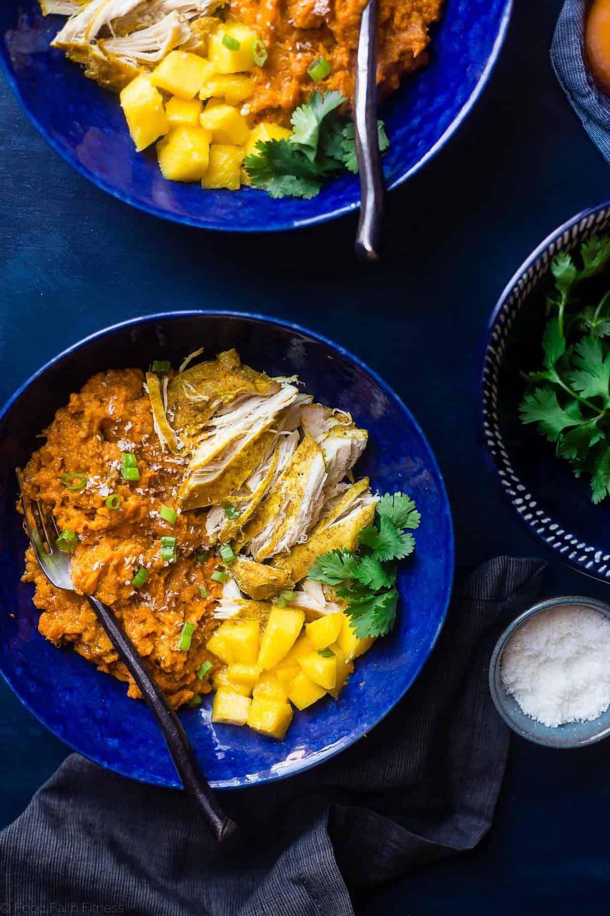 Slow Cooker Mango Chicken