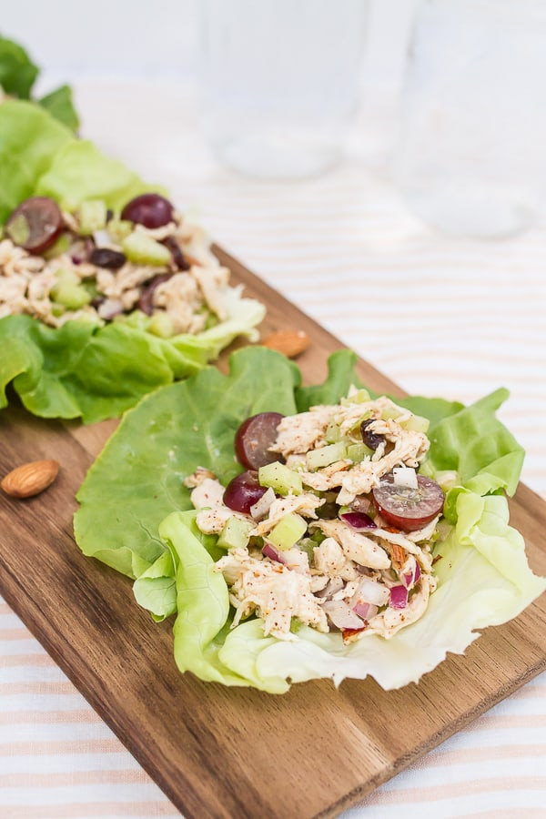Almond Butter Chicken Salad
