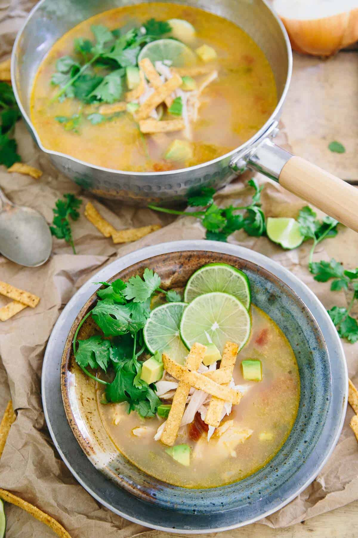 Sopa de Lima is a classic Mexican recipe full of simple yet bold flavors.