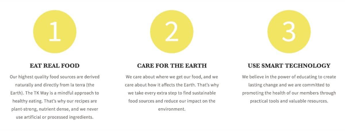 Terra's Kitchen philosophy