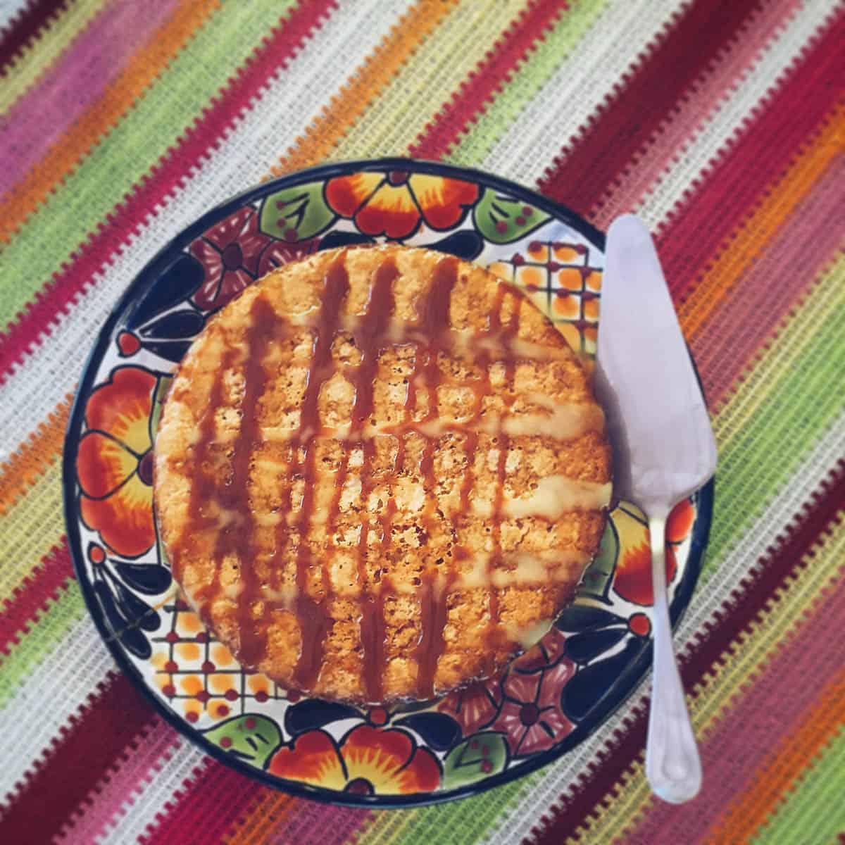 Mexico Lindo Cooking School - pan de elote