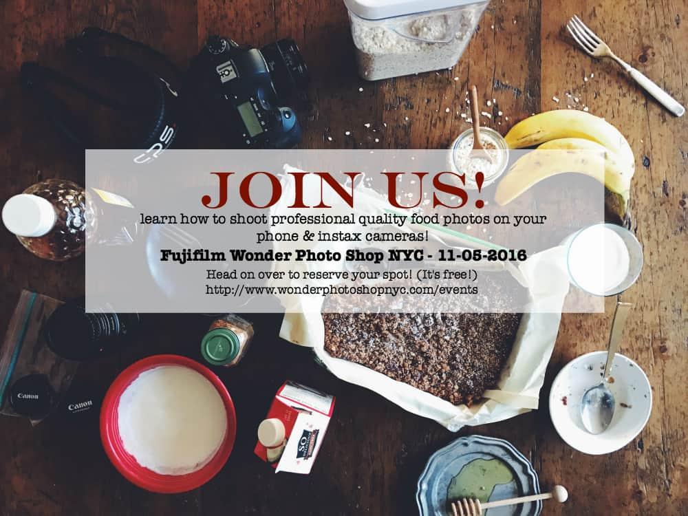 FujiFilm Wonder Photo Shop NYC event