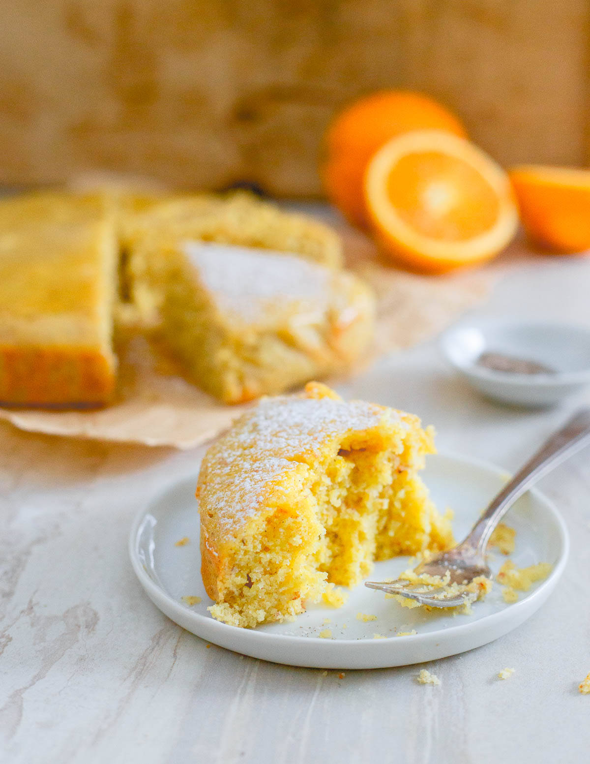 This orange cardamom cake with a sweet orange glaze is guaranteed to be enjoyed by all.