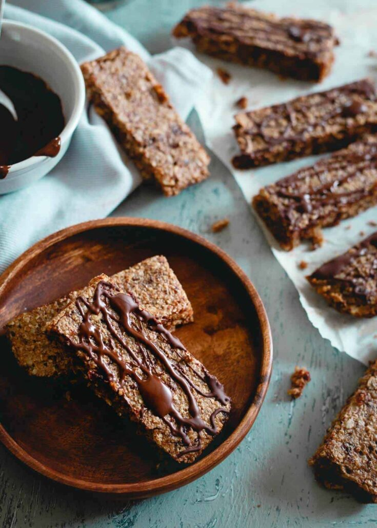 Chewy Montmorency Tart Cherry Oat Bars