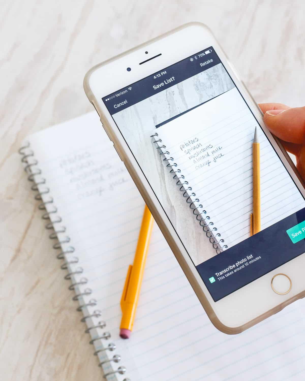 Flipp App shopping list
