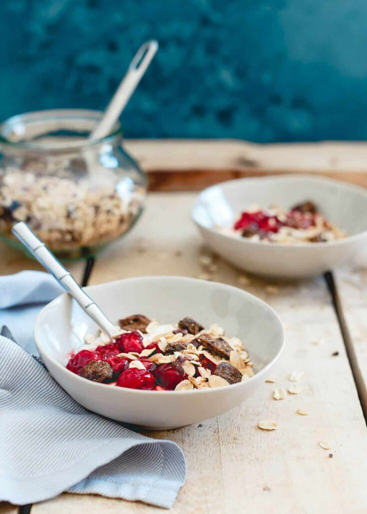 Tart Cherry Ginger Muesli