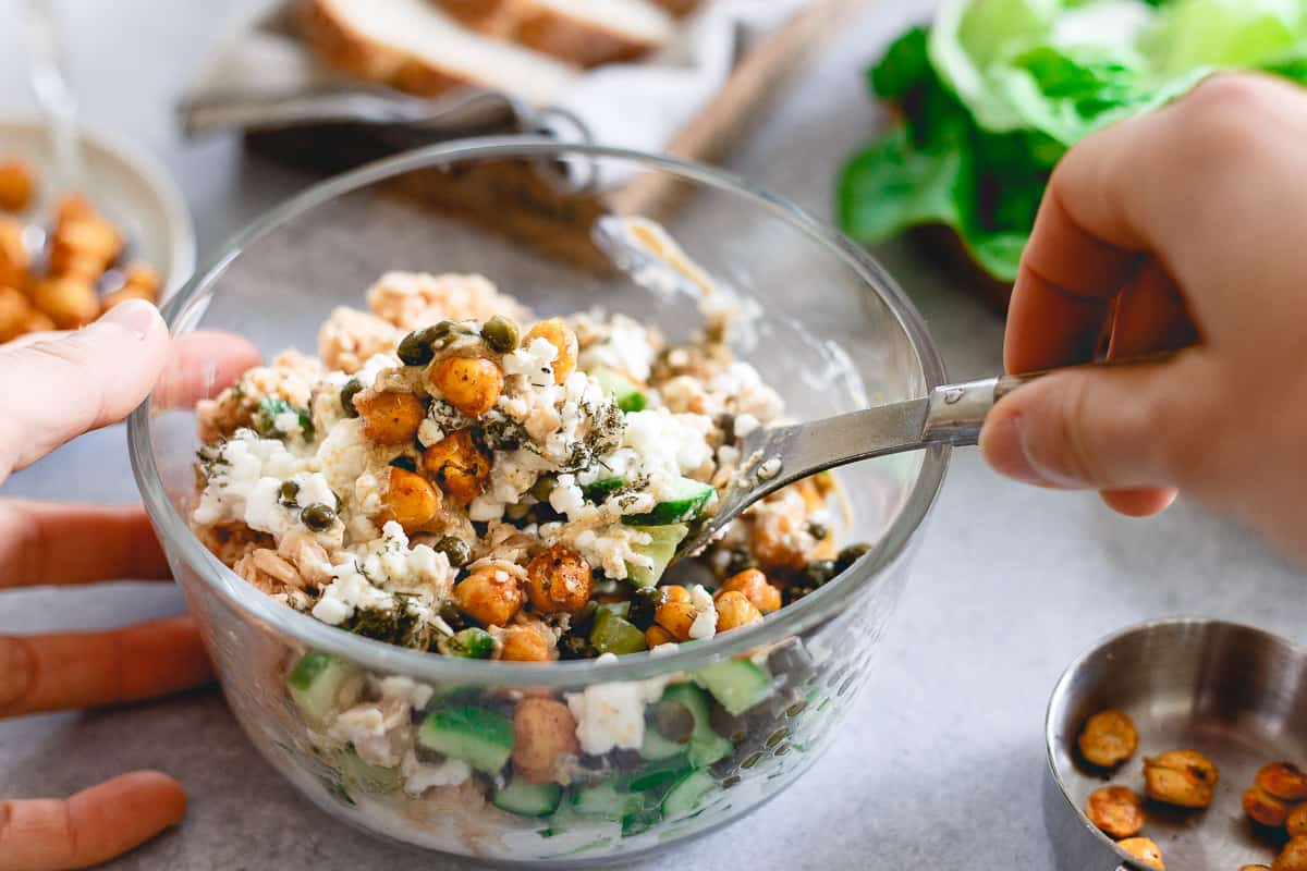 This salmon salad is packed with flavor, texture and nutrition. Ready in just 15 minutes!