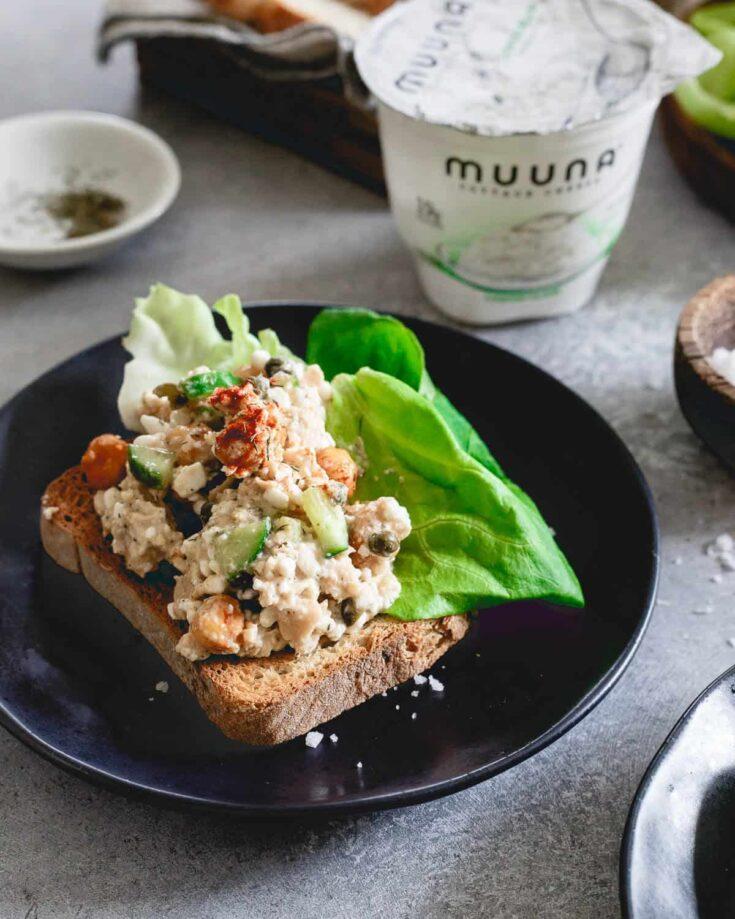Dijon Dill Salmon Salad