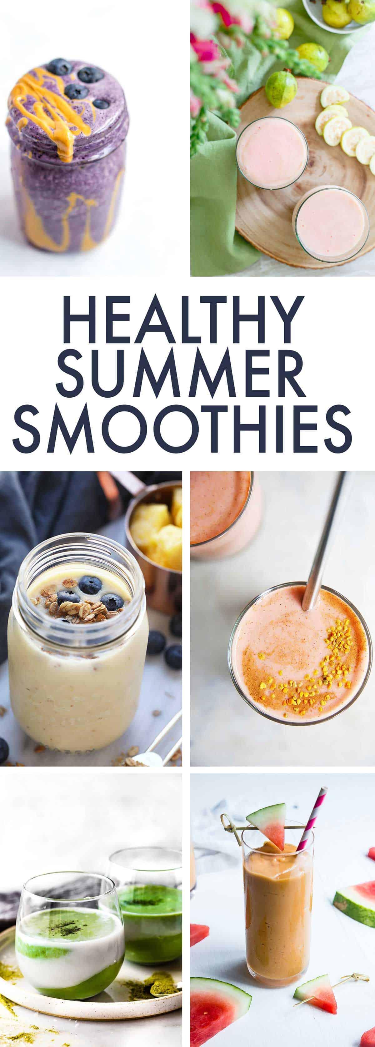 Healthy Summer Smoothie round-up