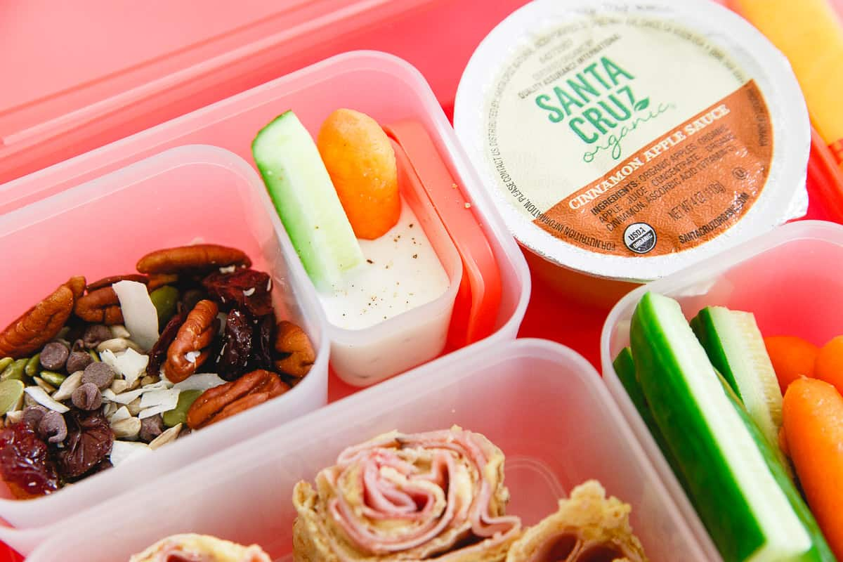 With back to school right around the corner, here are 5 ideas for a simple lunchbox meal.