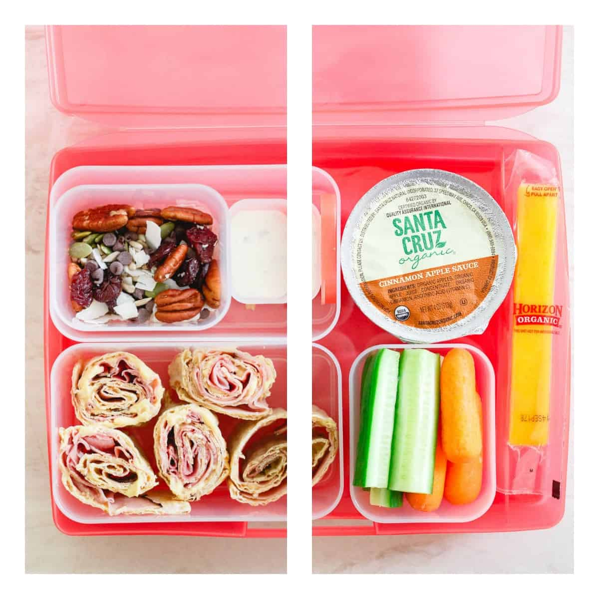 Send your kids to school with these simple, easy and healthy lunchbox ideas.