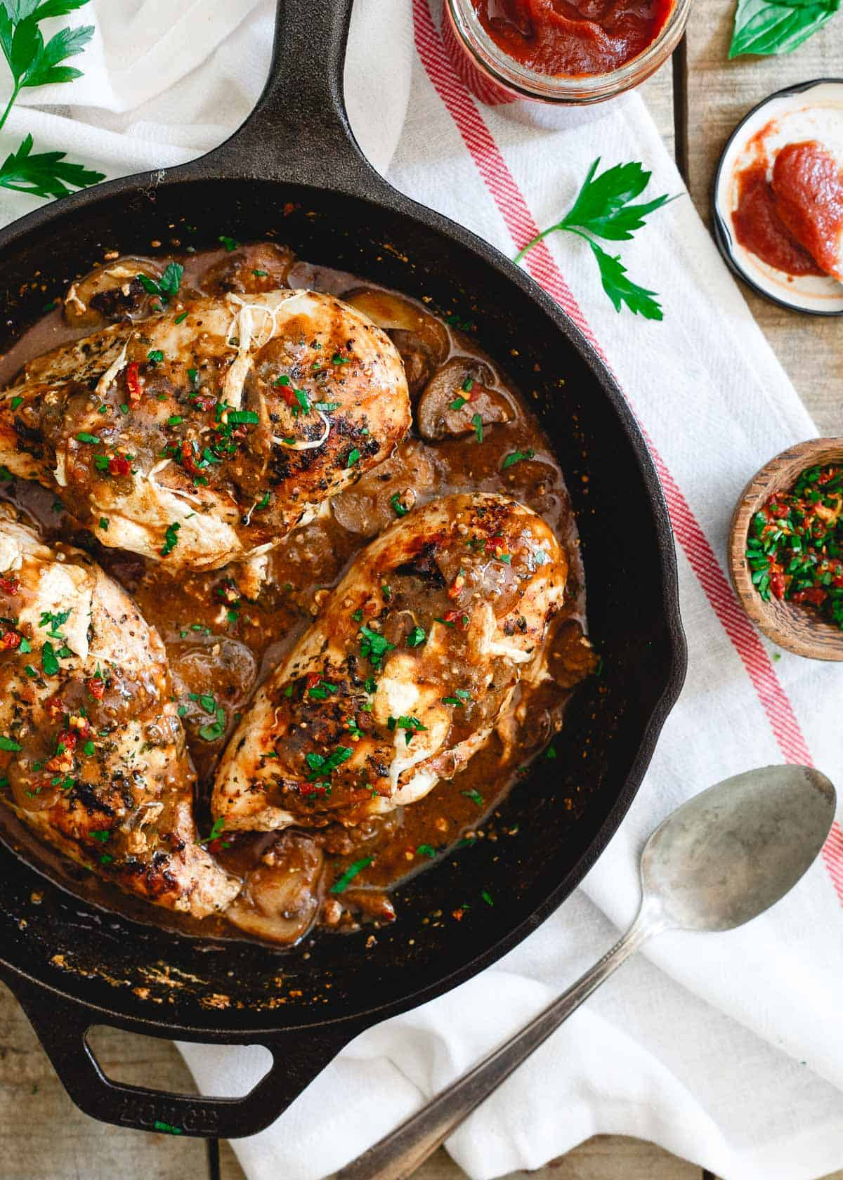 This stuffed chicken marsala takes the classic Italian dish to a whole new level.