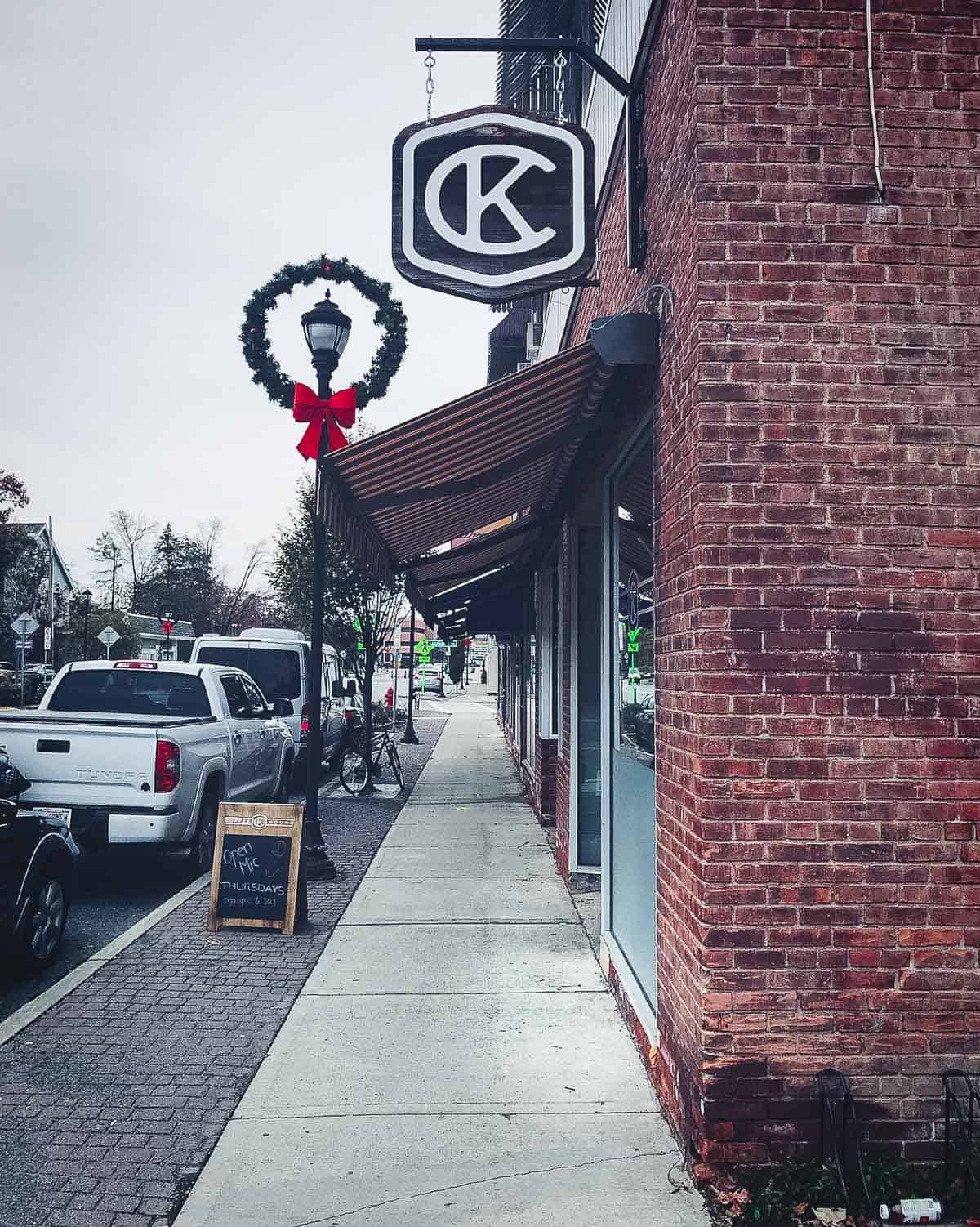 Krafted Cup coffee house in Poughkeepsie, NY
