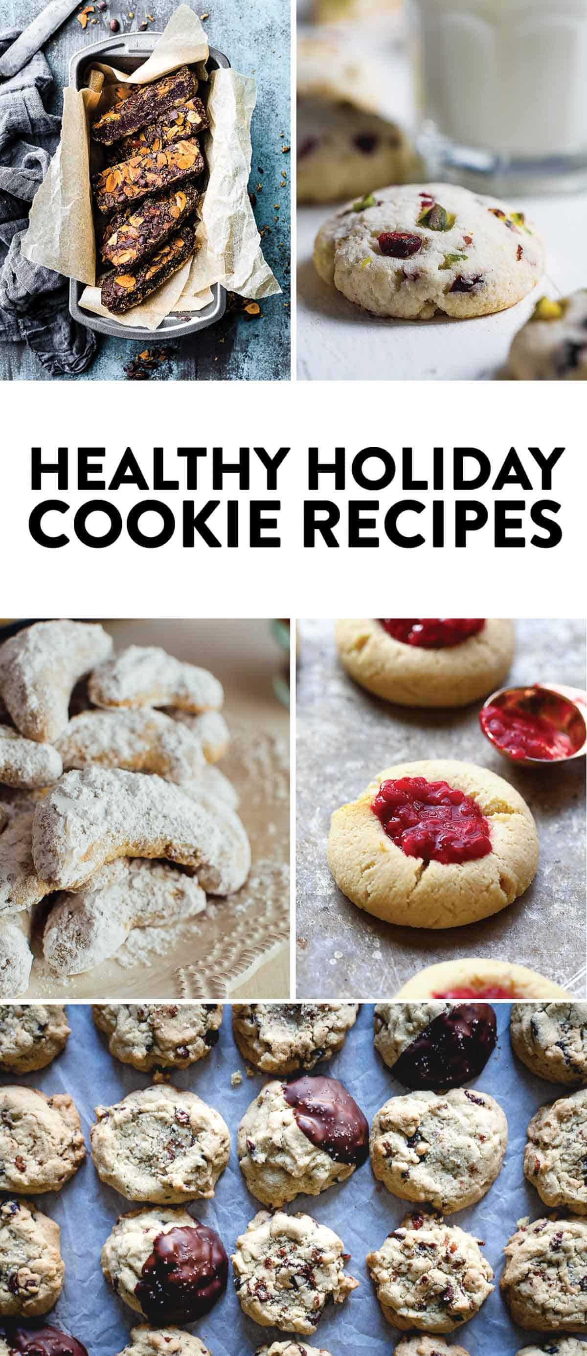 Healthy Holiday Cookie Recipes - all gluten-free!