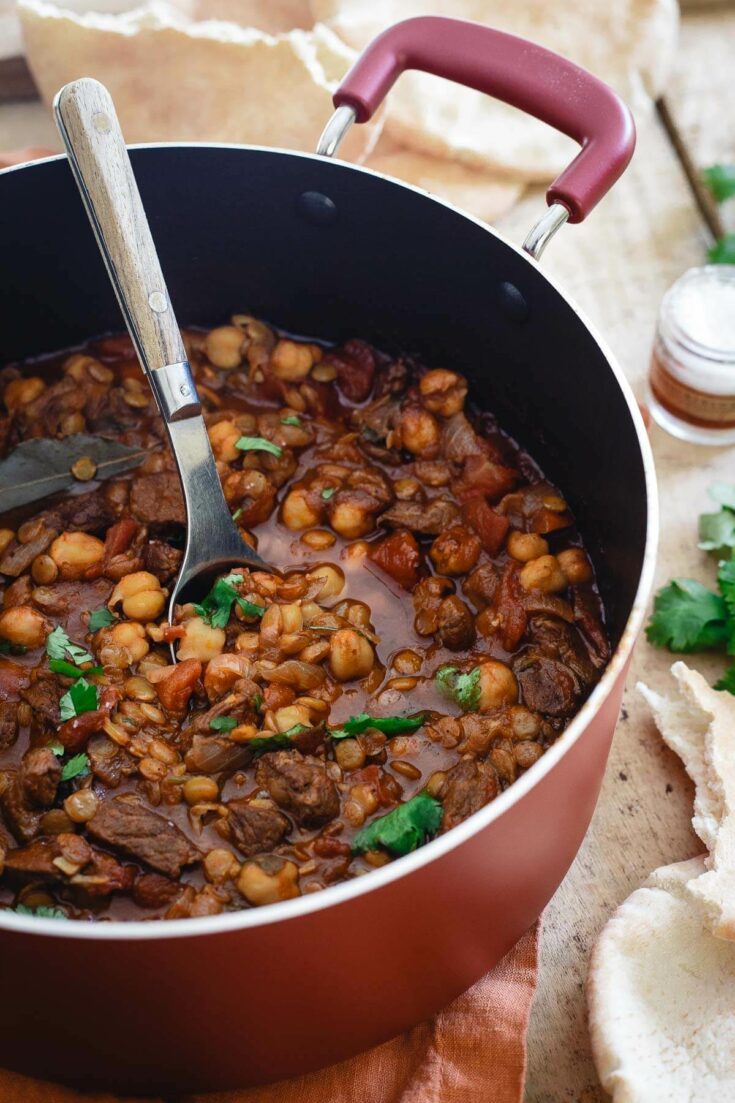 Moroccan Lamb Lentil Stew