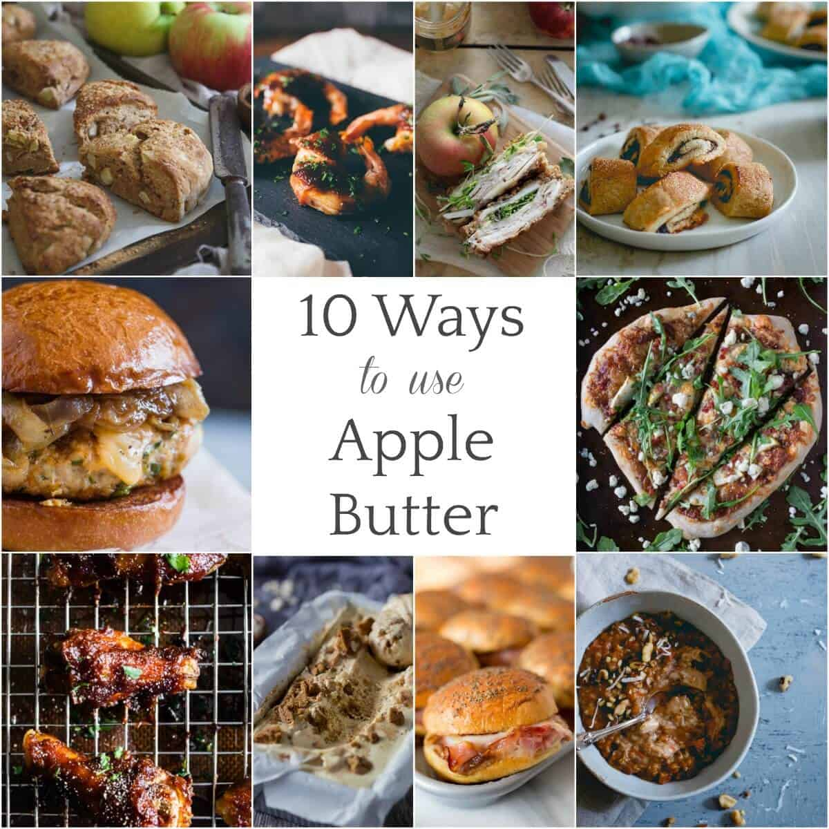 10 Ways To Use Apple Butter - adding apple butter to many sweet and savory recipes is a great way to enjoy this lovely condiment!