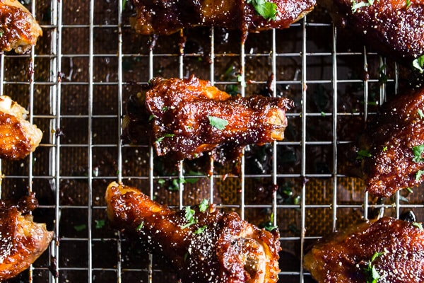 Apple Butter Honey Mustard Chicken Wings
