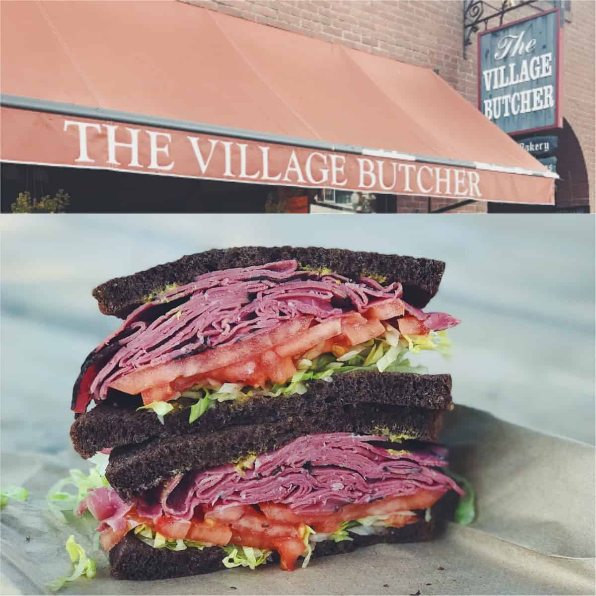 Pastrami Sandwich from The Village Butcher in Woodstock, VT