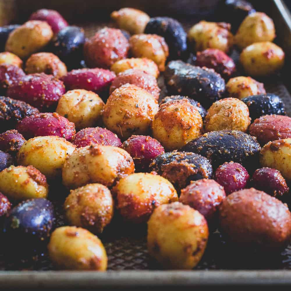Peri Peri potatoes are a simple side dish, delicious with chicken, steak, pork or even fish!