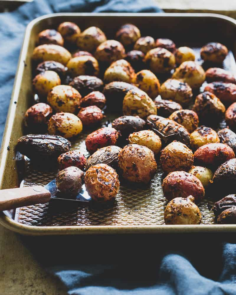 Try these peri peri spiced potatoes, roasted to perfection and super simple to pull together.