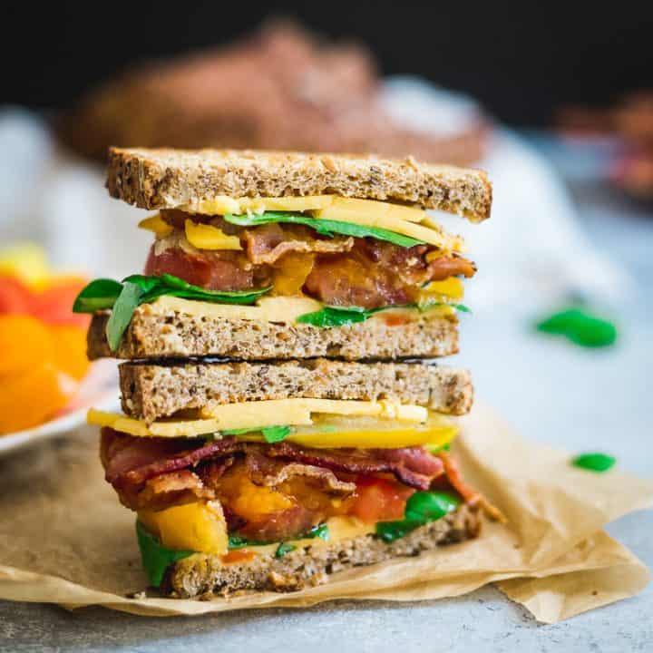 Summer BLTC Sandwich