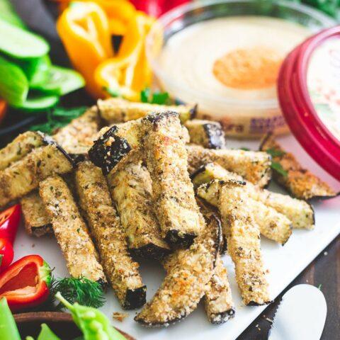 Italian Spiced Eggplant Fries
