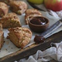 Apple Butter Bacon Scones