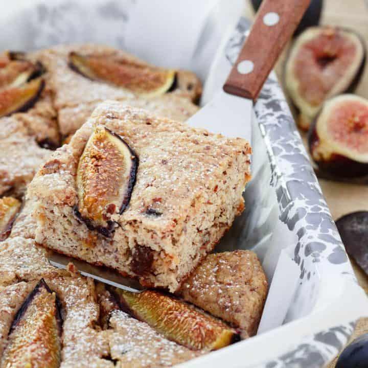 Ricotta Almond Fig Cake