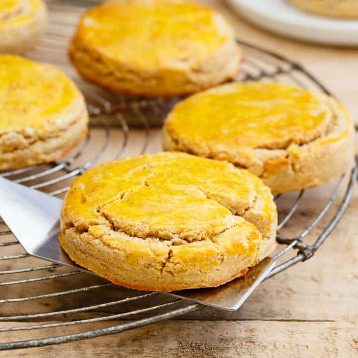 Vanilla Butternut Squash Biscuits