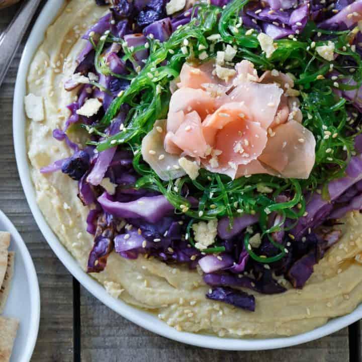 Asian Hummus Platter