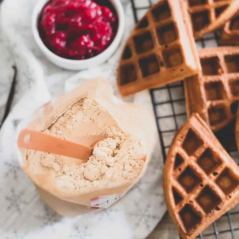 Chestnut flour is a hearty, nutty and malty gluten-free flour perfect for winter baking.