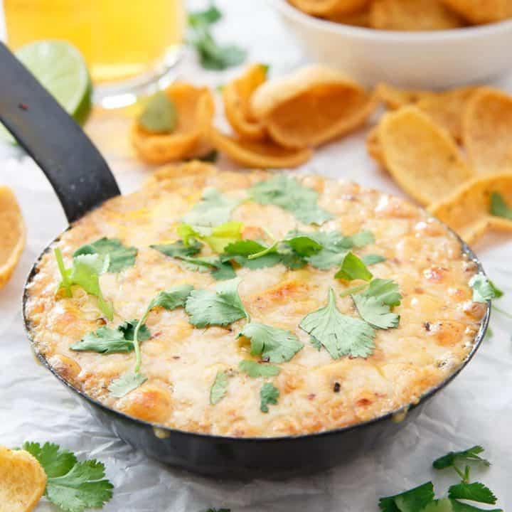 Chipotle Hummus Fundido