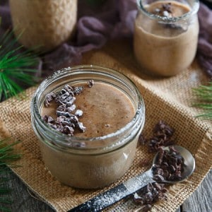 Dairy Free Gingerbread Pudding