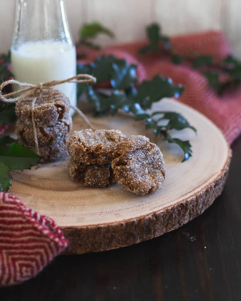 Enjoy a holiday treat guilt-free with these healthy gingerbread collagen cookies.