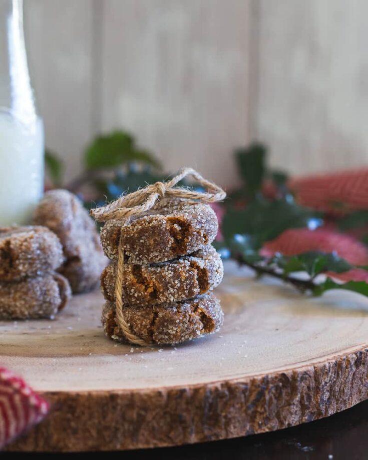 Gingerbread Collagen Cookies